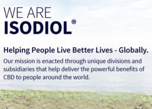 We are Isodiol banner