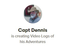 Become a Patron of Capt Dennis
